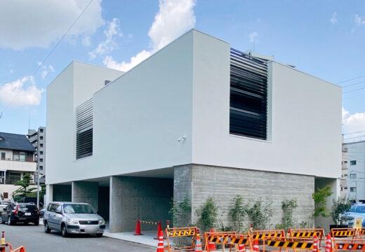 名古屋市東区の完成見学会の外観