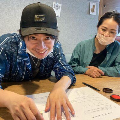 愛知県江南市の美容院の請負契約をいただきました